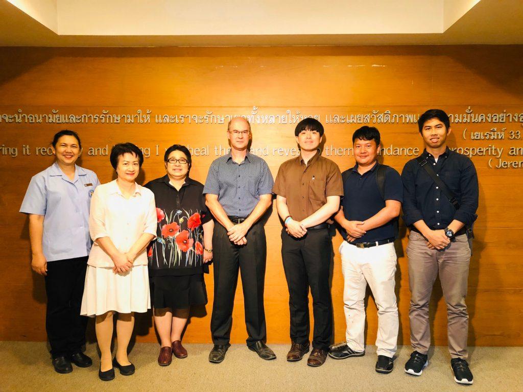 Das McGilvary-Team und die Leitung der Faculty of Nursing