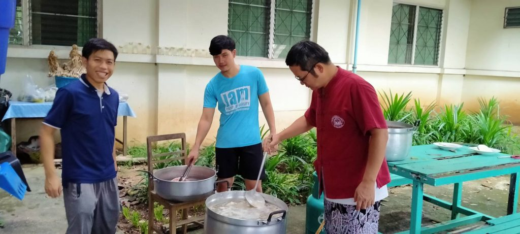 gemeinsames Kochen für alle