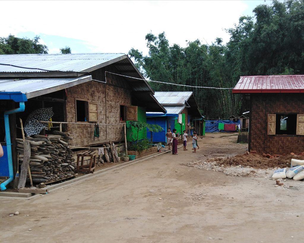 IDP (Internally Displaces People) Camp