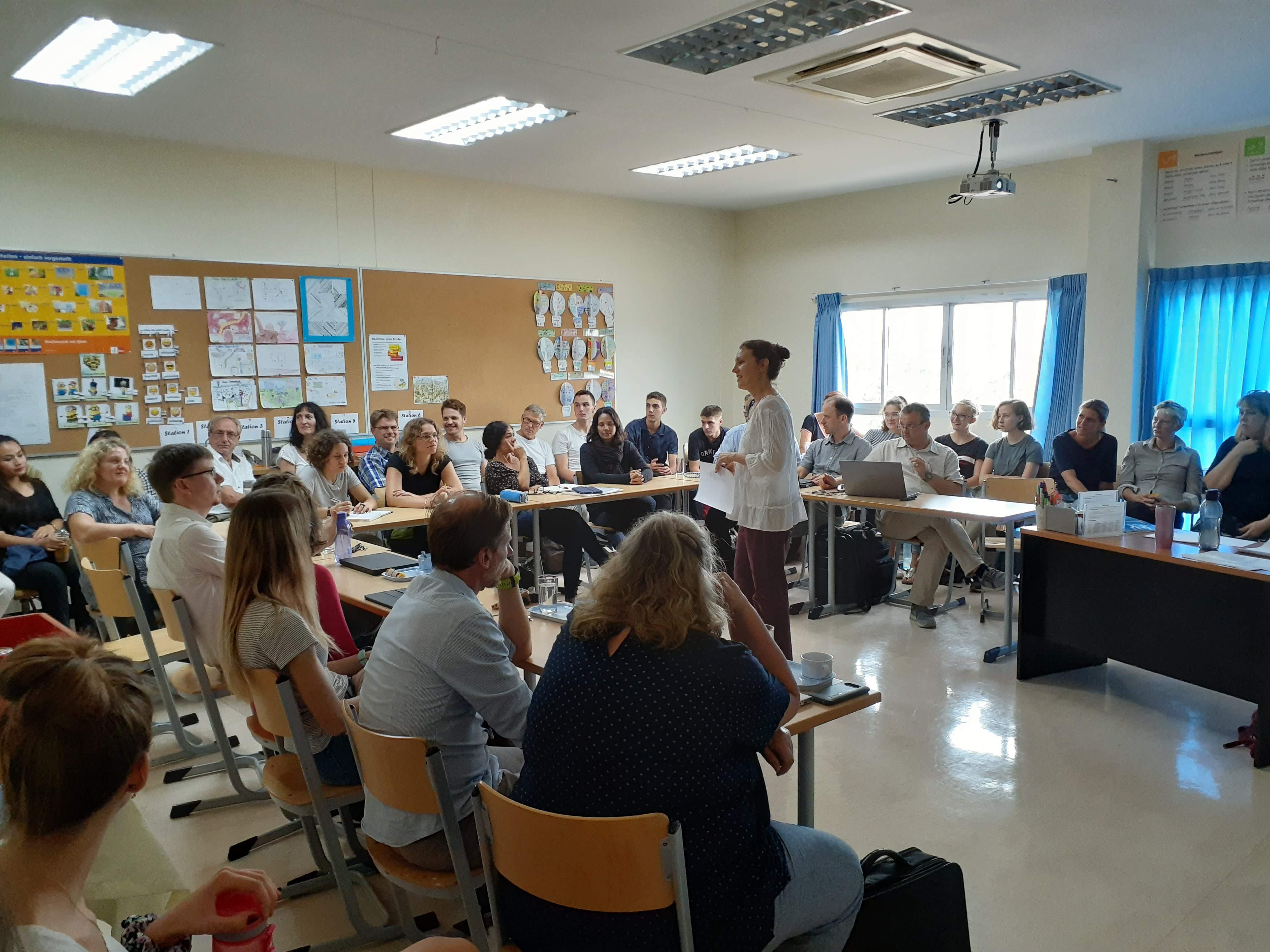 Seminar an der Christlichen Deutschen Schule