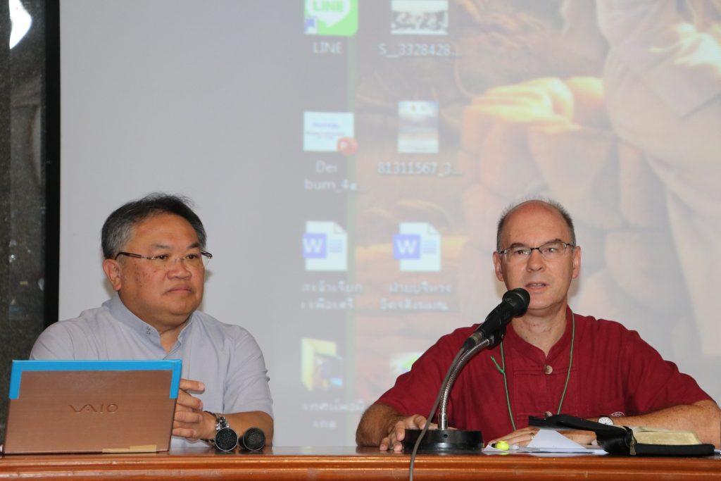 gemeinsamer Vortrag mit Pater Somkiat